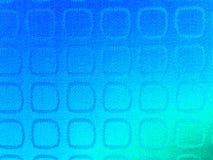 Fundo azul da textura do teste padrão do quadrado da tela da tela do inclinação Foto de Stock