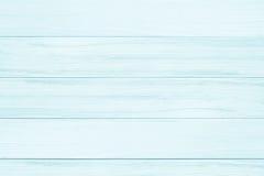 Fundo azul da textura da prancha de madeira de madeira todo o rachamento antigo Foto de Stock Royalty Free