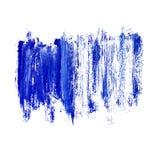 Fundo azul das pinceladas Fundo do Grunge fotos de stock royalty free