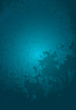 Fundo azul de Grunge Foto de Stock