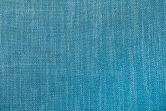 Fundo azul de linho bonito da foto Foto de Stock