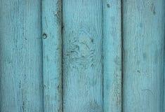 Fundo azul de madeira Fotografia de Stock Royalty Free