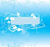 Fundo azul decorativo do tom Fotos de Stock Royalty Free