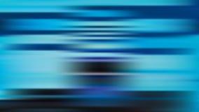 Fundo azul do borrão do vetor com listras horizontais ilustração stock