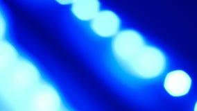 Fundo azul do conceito do título das luzes ilustração stock