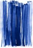 Fundo azul do curso da aquarela ilustração do vetor