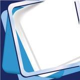 Fundo azul do frame Fotografia de Stock Royalty Free