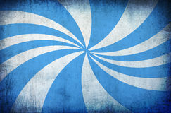 Fundo azul do grunge do vintage com raias do sol ilustração royalty free