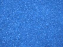 Fundo azul do inverno do gelo Foto de Stock Royalty Free
