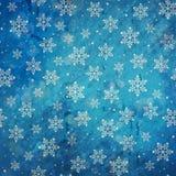 Fundo azul do inverno do grunge ilustração stock