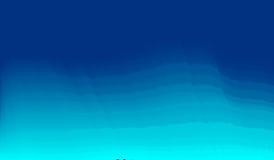 Fundo azul do mar do sumário do borrão de movimento com listras horizontais EPS10 Foto de Stock