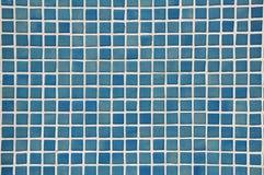 Fundo azul do mosaico Fotografia de Stock Royalty Free