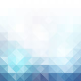 Fundo azul do mosaico da grade Fotos de Stock