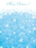 Fundo azul do Natal ilustração royalty free