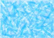 Fundo azul do sumário do gelo Fotos de Stock