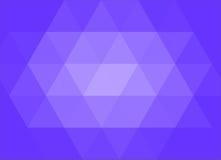 Fundo azul do sumário do triangulação Imagens de Stock