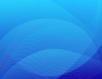 Fundo azul do sumário/Web Foto de Stock