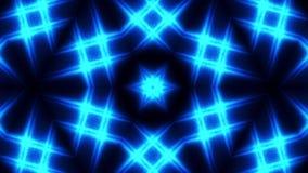 Fundo azul do teste padrão da iluminação ilustração do vetor