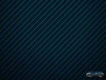 Fundo azul do volume da fibra do carbono do vetor Papel de parede material de pano abstrato da decoração com sombra para o ajusta ilustração stock