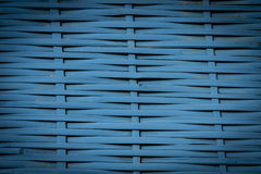 Fundo azul do weave Fotografia de Stock