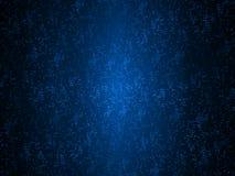 Fundo azul dos pontos da tecnologia do sumário Os pontos de incandescência alinham acima para formar uma forma da grande grade do ilustração royalty free
