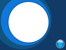 Fundo azul e branco Fotografia de Stock Royalty Free