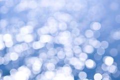 Fundo azul e branco Fotos de Stock Royalty Free