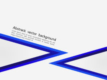 Fundo azul e cinzento abstrato, moldes criativos do projeto Fotos de Stock