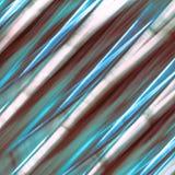Fundo azul e de prata abstrato do teste padrão - listras obscuras textured com espaço branco isolado foto de stock