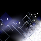 Fundo azul elegante abstrato do negócio Imagem de Stock