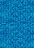 Fundo/azul enrugados do papel de parede da folha Imagens de Stock Royalty Free