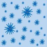 Fundo azul floral do sumário da natureza das centáureas Imagens de Stock Royalty Free
