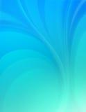Fundo azul liso Fotos de Stock