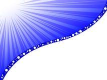 Fundo azul moderno Ilustração do Vetor