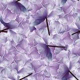 Fundo azul-roxo floral infinito sem emenda para o projeto e a impressão Fundo de tulipas naturais Parede-papéis Foto de Stock