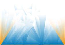 Fundo azul Sparkling Fotografia de Stock Royalty Free