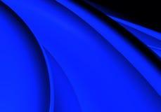 Fundo azul (sumário) 02 Fotografia de Stock Royalty Free