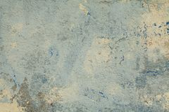 Fundo azul velho da parede das texturas Fundo perfeito imagem de stock