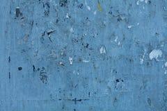 Fundo azul velho da parede das texturas Fundo perfeito com espa?o fotografia de stock