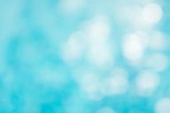 Fundo azul verde abstrato do borrão, onda azul do papel de parede com s Imagens de Stock Royalty Free
