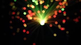 Fundo azul vermelho roxo das luzes do diodo vídeos de arquivo