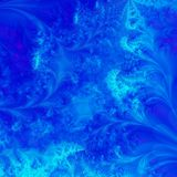 Fundo azul vibrante Imagem de Stock