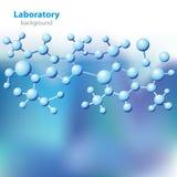 Fundo azul-violeta abstrato do laboratório. Foto de Stock Royalty Free
