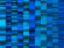 Fundo azulado das faixas com curvas e sombras poderosas Imagem de Stock Royalty Free