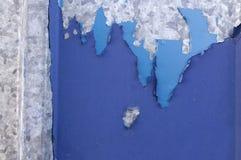 Fundo bicolor abstrato dividido em duas seções - ascendente próximo Fotografia de Stock Royalty Free