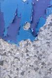 Fundo bicolor abstrato dividido em duas seções - ascendente próximo Fotos de Stock Royalty Free