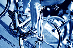Fundo Bicycling Imagens de Stock Royalty Free