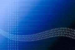Fundo binário abstrato Imagem de Stock