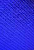 Fundo binário azul Imagens de Stock Royalty Free