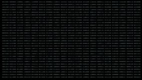 Fundo binário da matriz filme